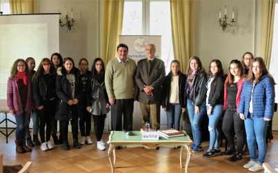 """01.11.2017 - Vizita elevilor de la Colegiul Național """"Octav Onicescu"""" din București."""
